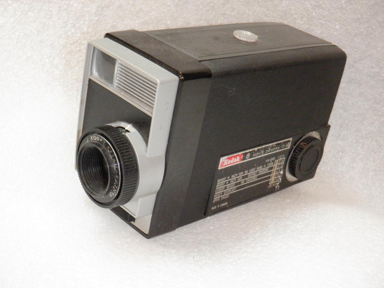 Kodak 8 Movie Camera