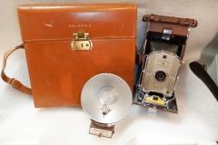 Polaroid Model 95A with box & flash